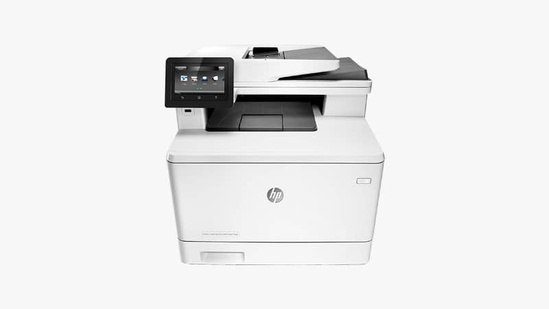 HP LaserJet Pro M477FDW List