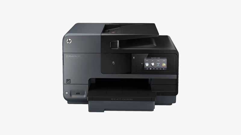 HP OfficeJet Pro 8620 All-in-One Wireless Printer List