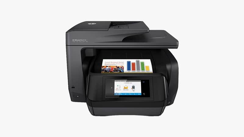 HP OfficeJet Pro 8720 All-in-One Wireless Printer List