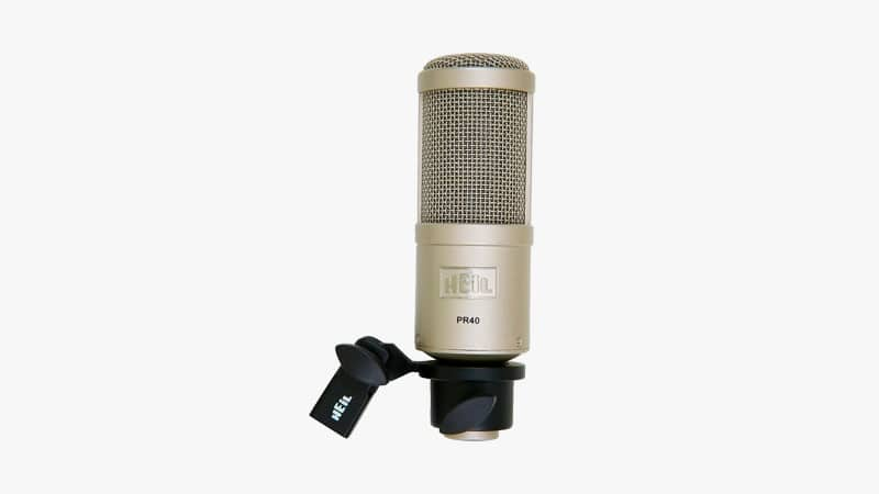 Heil PR-40 Dynamic Studio Microphone List