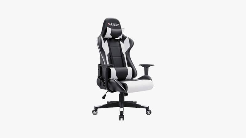 Homall Gaming Chair Racing Style High-Back PU Leather Office Chair