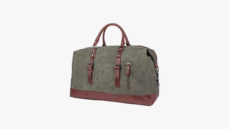 Leaper Canvas Travel Duffel Bag