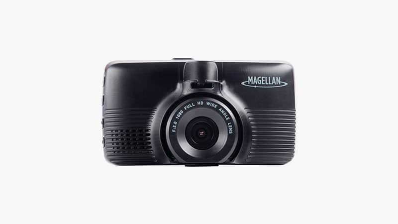 Magellan MIVUE 480D DashCam with GPS & Time Stamps List