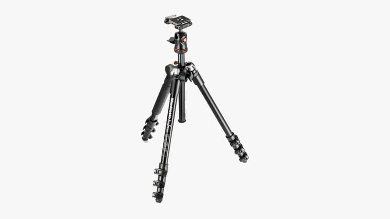 Manfrotto BeFree Compact Aluminum Travel Tripod List