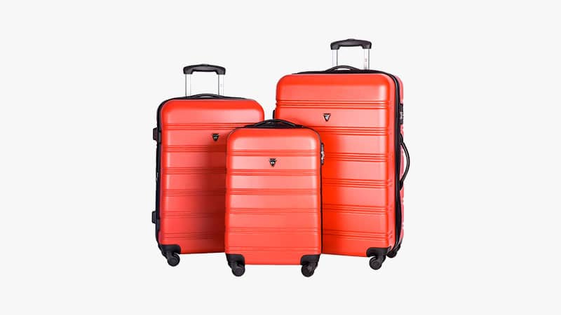 Merax Travel House Luggage Expandable Spinner Set List
