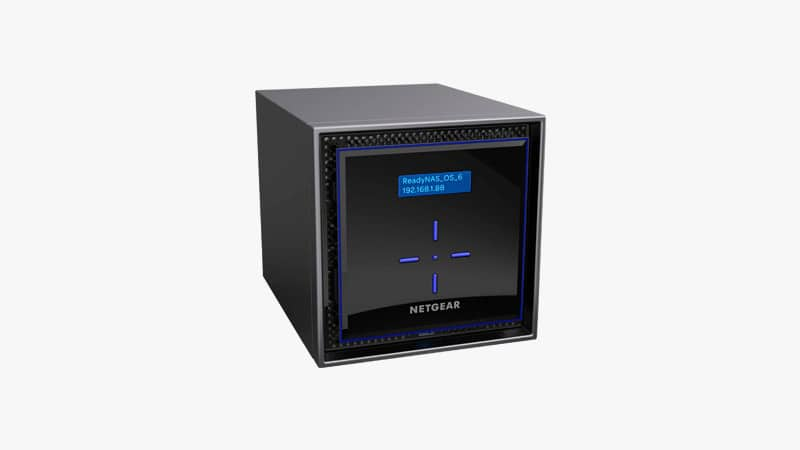 NETGEAR ReadyNAS RN424E2 4-Bay Network Attached Storage