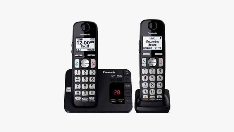 Panasonic DECT 6.0 Expandable Cordless Phone List