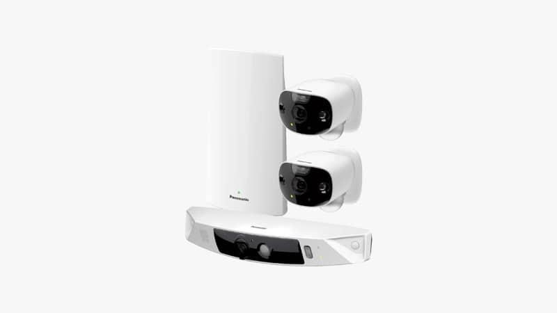 Panasonic HomeHawk Outdoor Home Security Camera