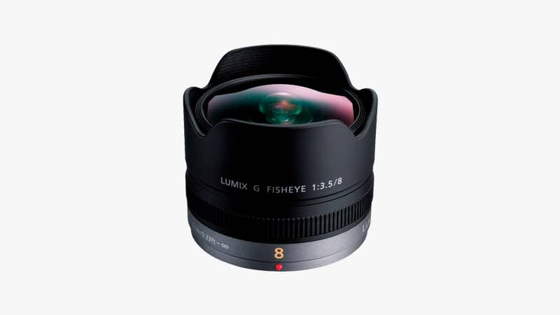 Panasonic LUMIX G 8mm f3.5 Fish Eye Lens