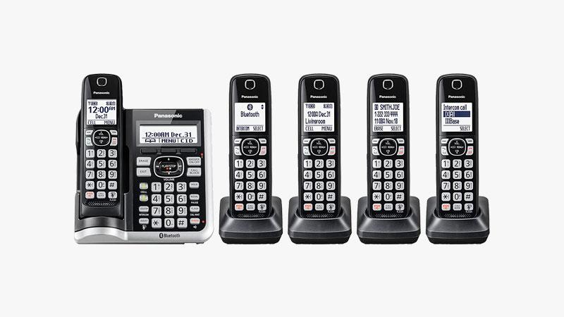 Panasonic Link2Cell Bluetooth Cordless Phone List