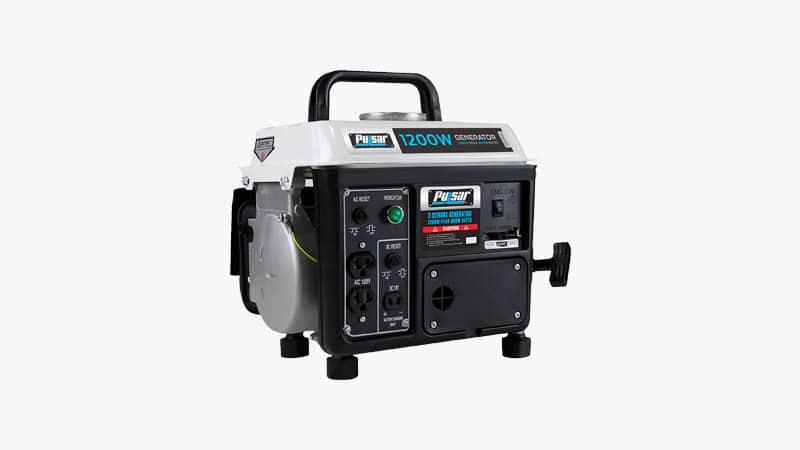 Pulsar 1,200W Portable Gas-Powered Generator