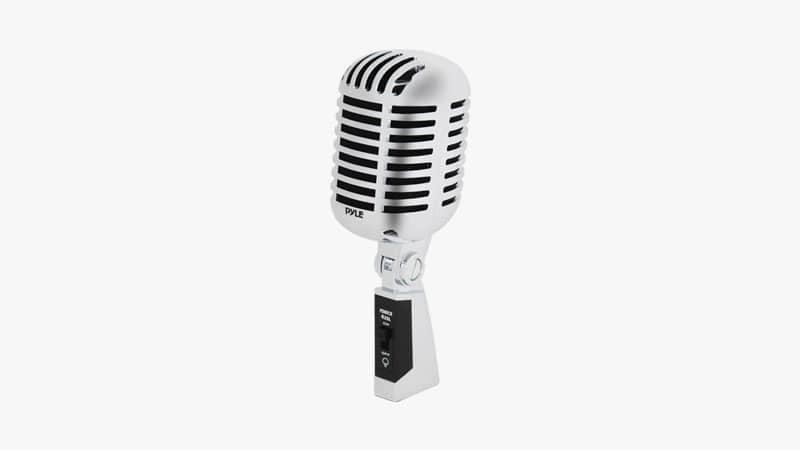 Pyle PDMICR42SL Classic Retro Microphone-List