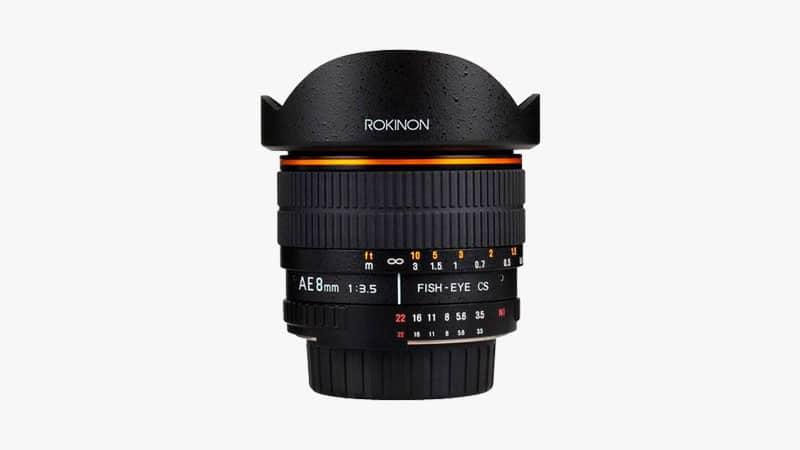 Rokinon 8mm f/3.5 Lens