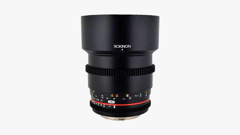 Rokinon Cine 85mm f/1.5 Lens