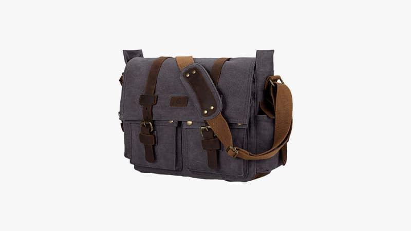S-Zone Vintage Canvas Shoulder Messenger Bag