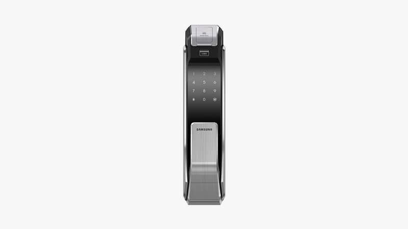 Samsung SHS-P718-LMK Push Pull Biometric Touchscreen Digital Door Lock