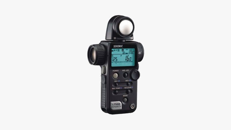 Sekonic L-758D DigitalMaster Light Meter