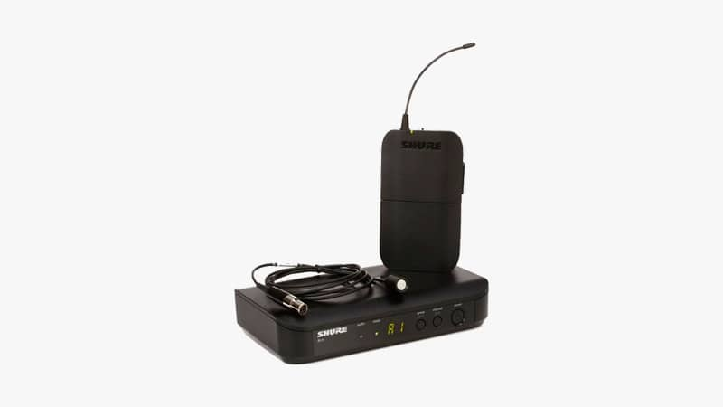 Shure BLX14/CVL-H9 Wireless System with CVL Lavalier Microphone
