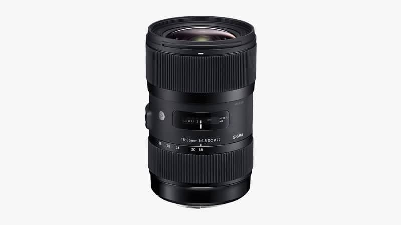 Sigma 18-35mm f/1.8 DC HSM L Lens