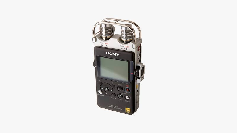 Sony PCM-D100 Portable High-Resolution Audio/Voice Recorder
