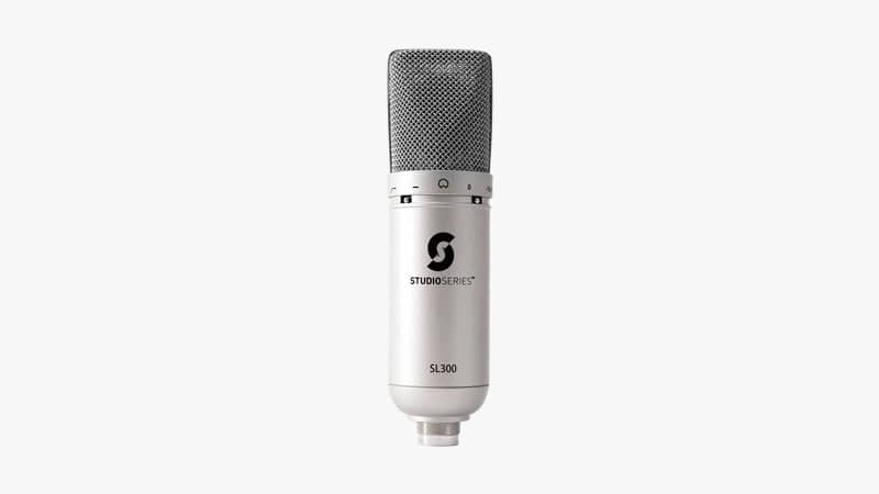Studio Series SL300 USB Condensor Microphone-List