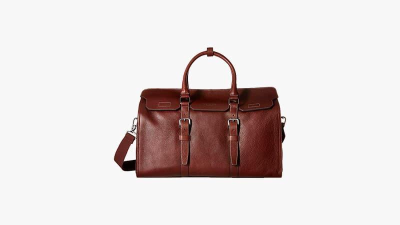 BRAND NEW!! Kenneth Cole Gray Black Duffle Bag Weekender Travel Gym Handbag