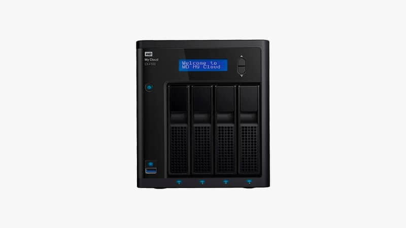 WD 8TB My Cloud EX4100 Expert Series 4-Bay Network Attached Storage