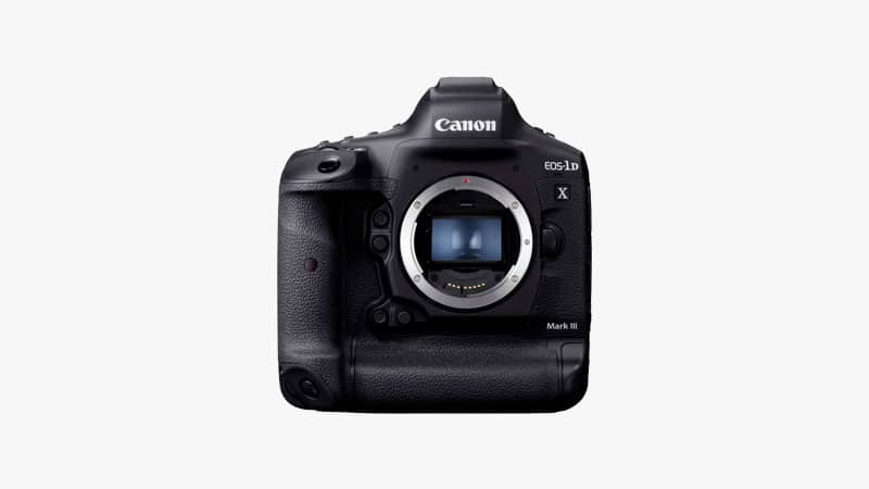 Canon EOS-1D X Mark III DSLR Camera List