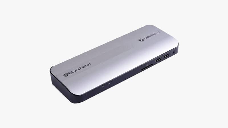 Certified Cable Matters Aluminum Thunderbolt 3 Dock List