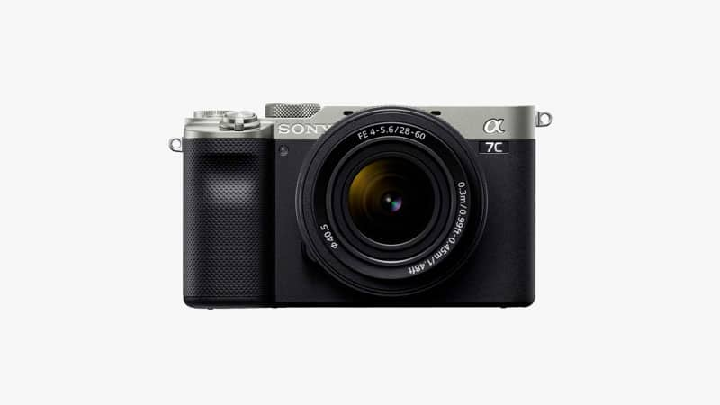 Sony Alpha 7C Full-Frame Compact Mirrorless Camera Kit List