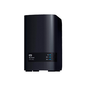 WD 4TB My Cloud EX2 Ultra Network Attached Storage Table