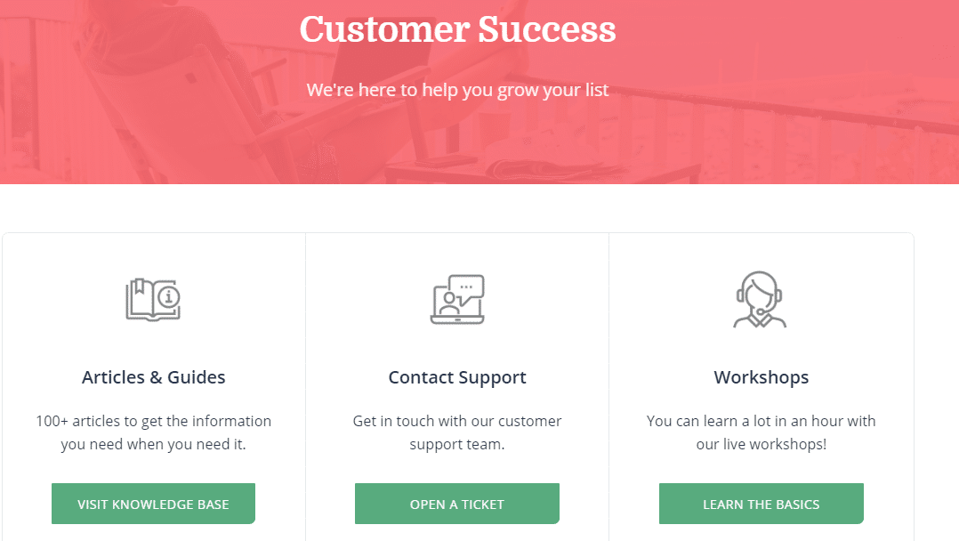 ConvertKit Customer Service