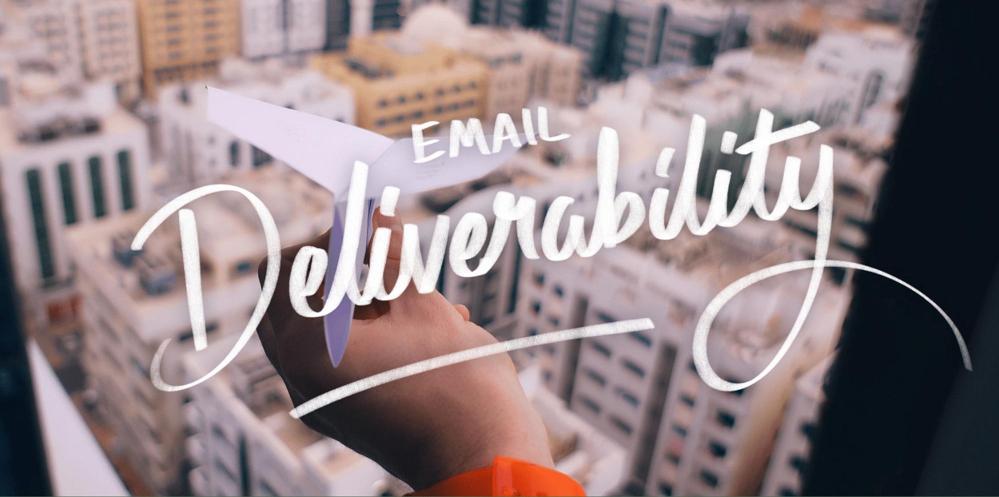 Email deliverability banner