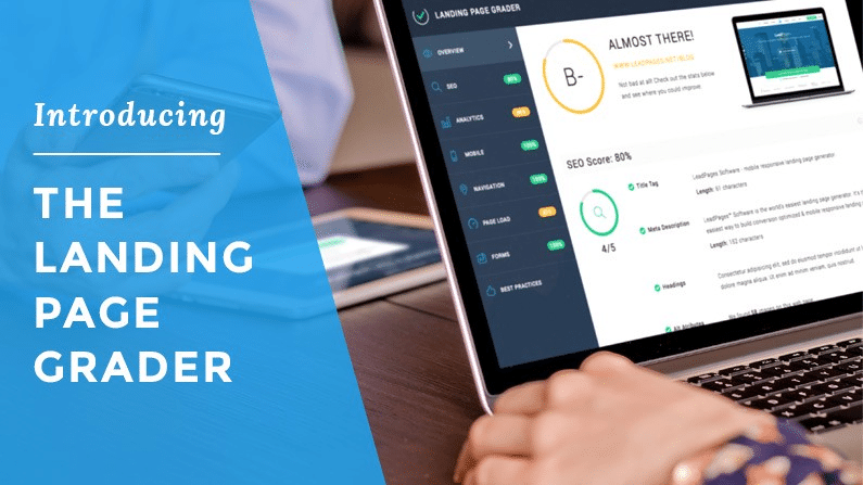 The Landing page grader