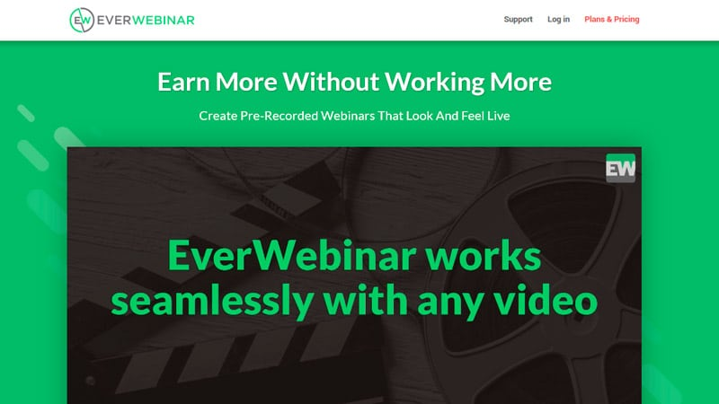 EverWebinar Home Page