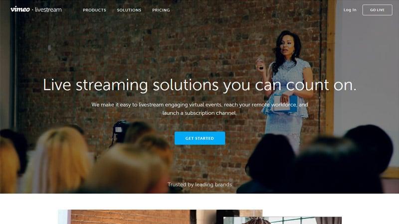 LiveStream Home Page