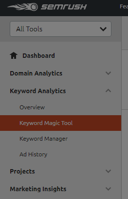 SEO Keyword Magic