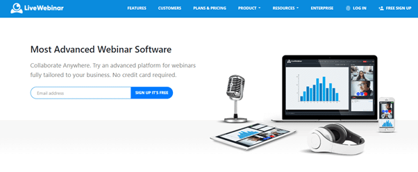 LiveWebinar Home Page