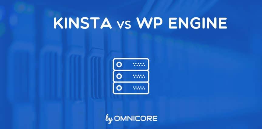 Hosting Platforms Kinsta vs WPEngine Featured Image