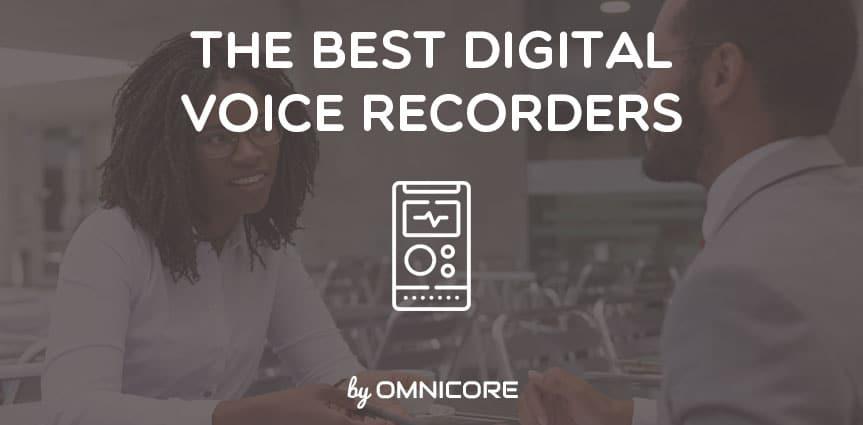 Best Digital Voice Recorder Featured Image