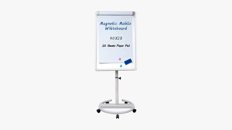 Maxtek Mobile Dry Erase Board List