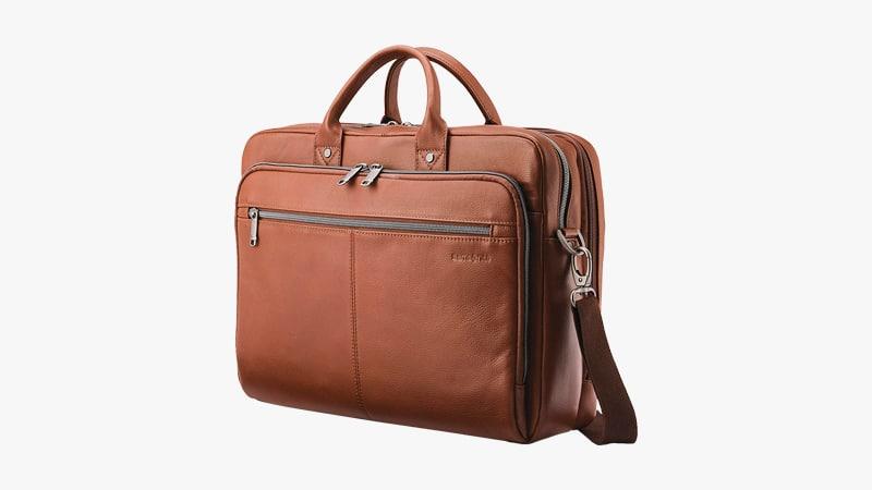 Samsonite Classic Leather Toploader Briefcase List