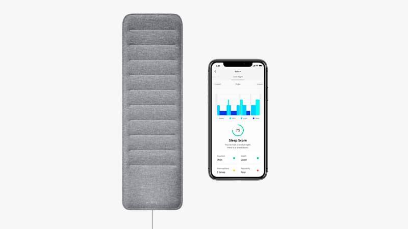 Withings Sleep Sleep Tracking Pad List