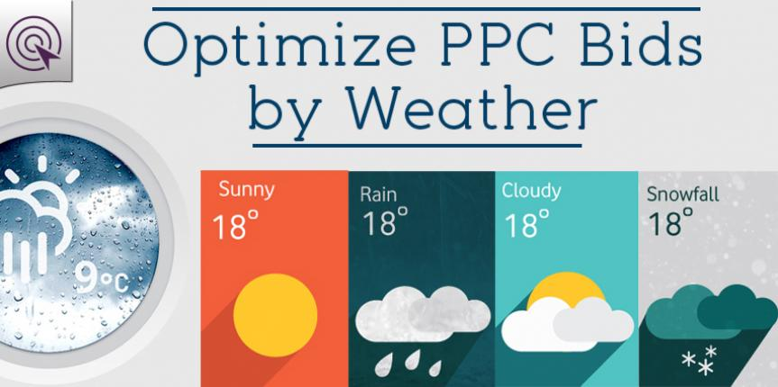 [How to] Optimize Adwords PPC Bids by Weather – Yes, Weather!